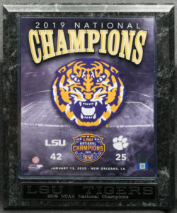 2019 NCAA National Champion LSU Tigers