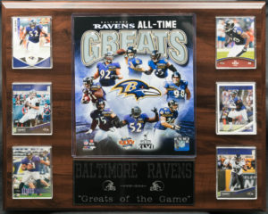 "Baltimore Ravens ""Greats of the Game"""