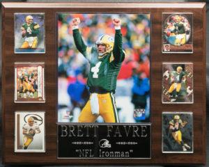 "Brett Favre ""NFL Ironman"""