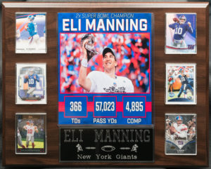 Eli Manning 2x Super Bowl Champion
