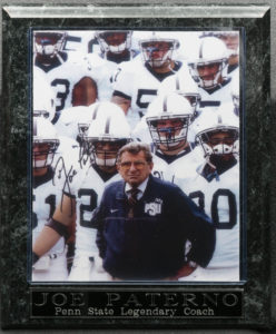Joe Paterno Penn State Legendary Coach