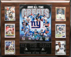 "New York Giants ""Greats of the Game"""